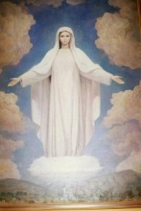 Blessed Mary Medjugorje