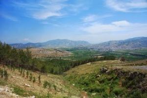 Ephesus View near Marys House