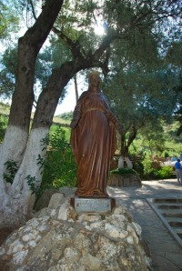 Statue of Mary at Marys House