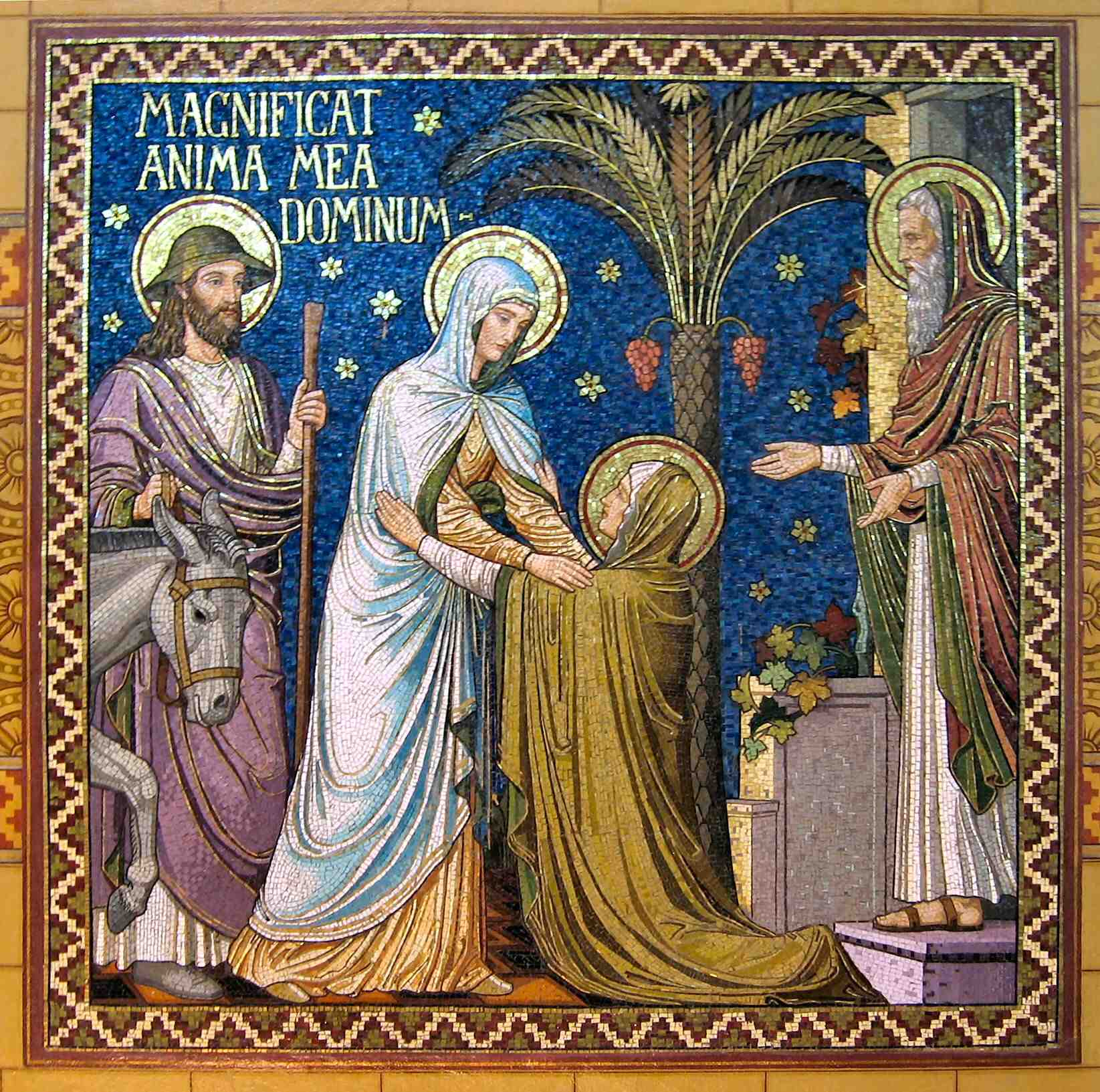 The Feast Of The Visitation Of The Blessed Virgin Mary Blessed